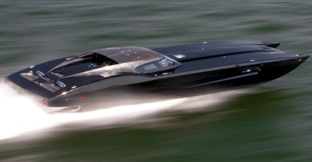 Chevrolet Corvette Zr1 Converted Into A Speed Boat