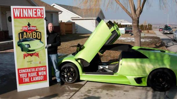 Truck Driver Wins Lamborghini In Contest And Crashes Same Day