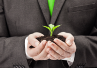 Green businesses save money as well as the environment.