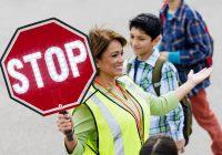 Hand Held Stop Sign