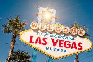 Solar Powered Las Vegas Sign