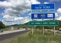 I love NY highway sign