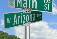 Flat Blade Street Signs