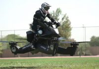 Dubai Police Flying Motorbike