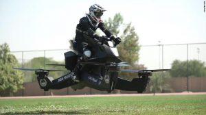Dubai Police Flying Motorbike