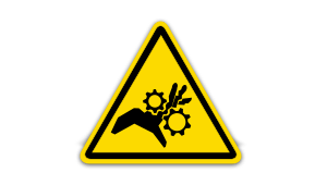 Rotating Gears Label