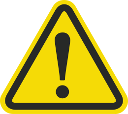 Image result for warning symbol