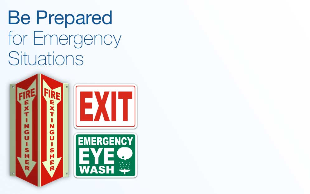 Emergency Signs