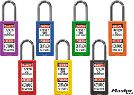 Bilingual Keyed Alike Safety Padlock