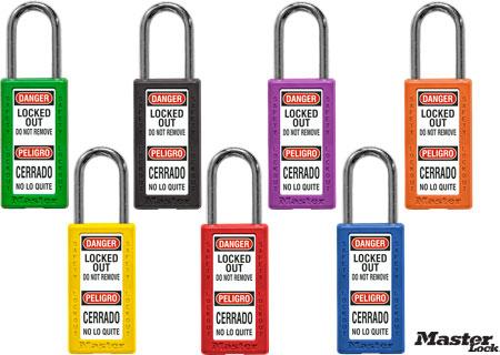 Bilingual Keyed Different Safety Padlock