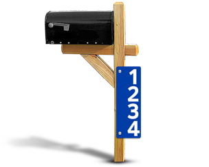 Reflective House Number Signs