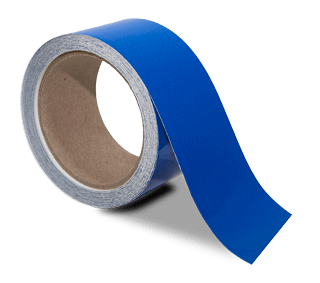 Blue Reflective Floor Marking Tape