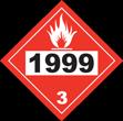 UN # 1999 Class 3 Flammable Liquid