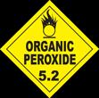 Organic Peroxide Class 5.2 Placard