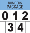 NFPA 704 Numbers Package
