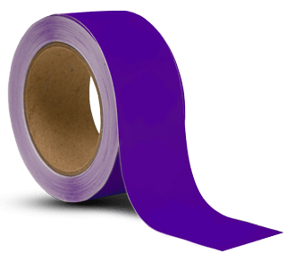 Purple Vinyl Floor Marking Tape