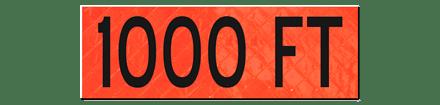 1000 FT Overlay