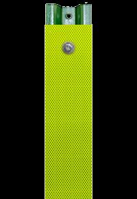 Yellow-Green Reflective U-Channel Post Panel