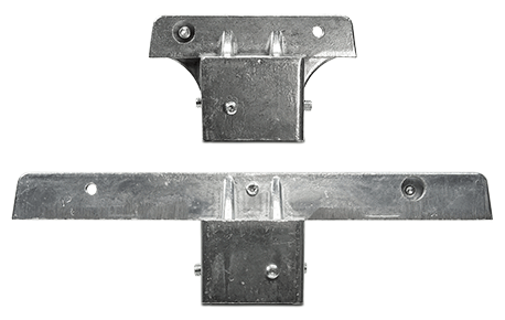 """2"""" Square Post Extruded Blade Street Name Sign Bracket"""