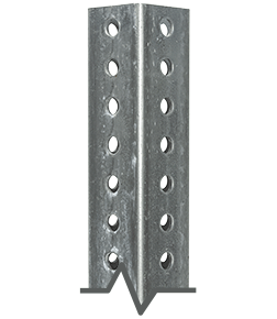 Galvanized Square Sign Post
