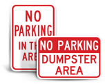 Area Specific Signs