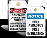Asbestos Tags