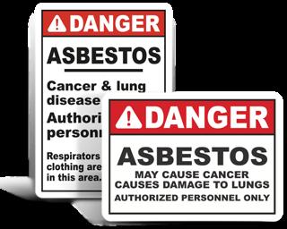Asbestos Warning Signs