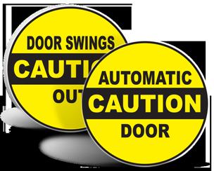 Automatic Door Stickers