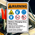 Battery Charging Signs