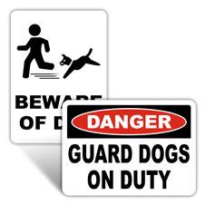 Beware of Dog Signs