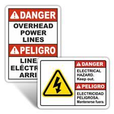 Custom ANSI-OSHA Safety Signs