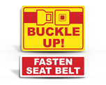 Buckle Up Stickers