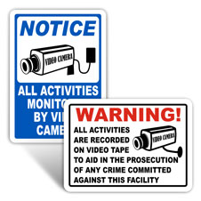 Camera in Use Signs