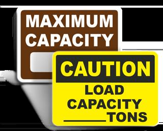 Capacity Signs