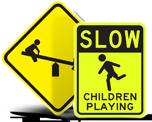 Kids at Play Signs