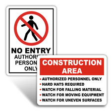 Construction Safety Signs