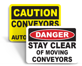 Conveyor Safety Signs