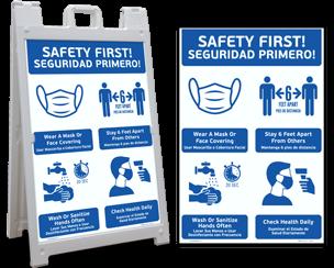 COVID-19 Protocol Signs