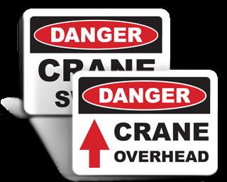 Crane Safety Signs
