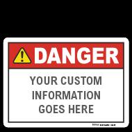 Custom ANSI Z535.2 Signs
