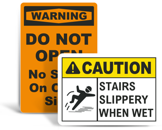 Custom Floor Safety Signs