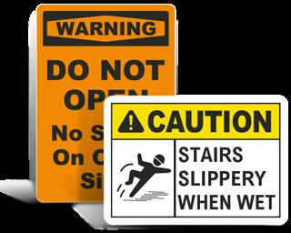 Custom Floor Signs