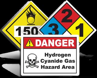 Custom Chemical Signs