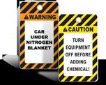 Custom Chemical / Health / Lab Tags