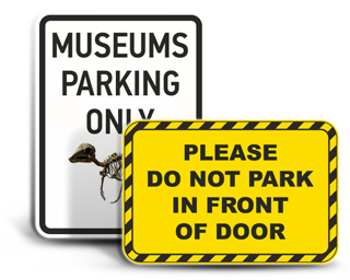 Custom Commercial Parking Signs