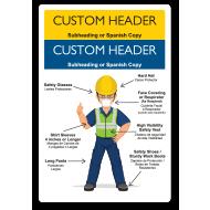 Custom Jobsite Dress Code Signs