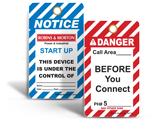 Custom Electrical Tags