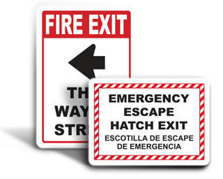 Custom Exit Signs