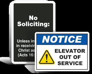 Custom Facility Property Signs