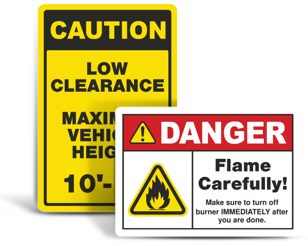 Custom Facility Safety Signs